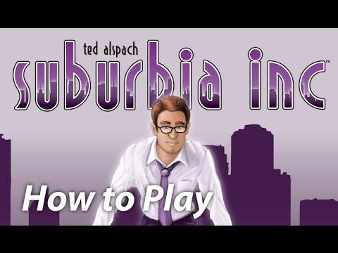 Bézier Games Suburbia : Suburbia INC.
