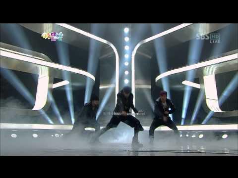 121229 SBS Gayo Daejun S.M. The Performance(允浩,銀赫,東海,珉豪,泰民,KAI&LAY)- Spectrum