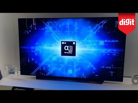 LG OLED65CX TV First Look