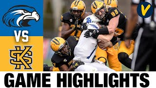 Shorter vs #8 Kennesaw State Highlights | 2021 Spring College Football Highlights