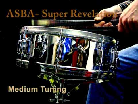 """caisse claire ASBA Super Revelation COB vintage snare 14x5"""""""