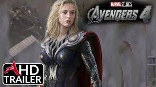 Avengers 4: ENDGAME - TEASER TRAILER - Josh Brolin, Brie Larson Film (CONCEPT)