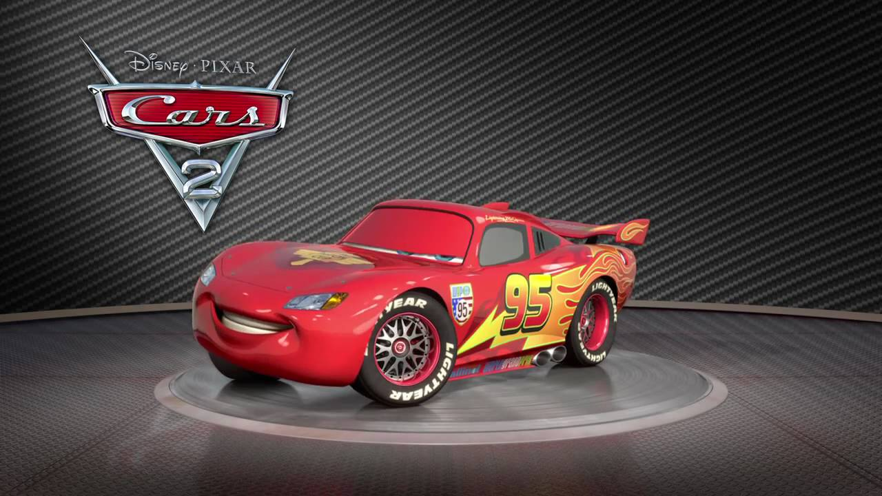 Disney Cars Youtube: Saetta McQueen Turntable