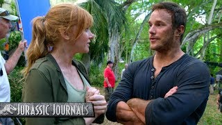 Chris Pratt's Jurassic Journals: Bryce Dallas Howard (HD)