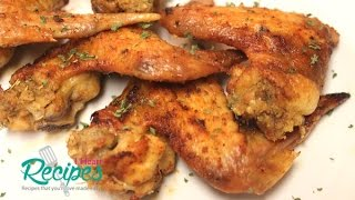 Stuffed Chicken Wings Recipe - I Heart Recipes