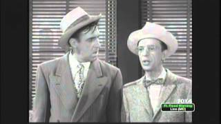 Barney Fife and Gomer Pyle Find Cure for the Mange with Miracle Salve