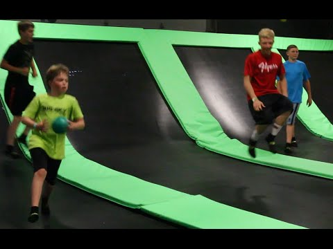 Fun at the Get Air trampoline park