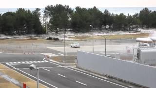 Tsunami in Iwaki City, Fukushima prefecture
