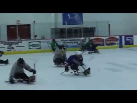 Push to Walk Summer Boot Camp- Sled Hockey