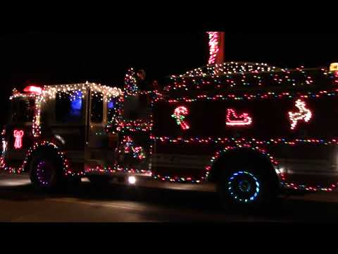 Altona FD Parade of Lights  12-19-20