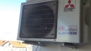 Mitsubishi MSZ FH35VE / -11.3C Heating the living room 45m2