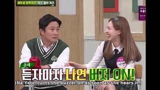 Soo Geun and Nayeon of TWICE surprising chemistry LOL