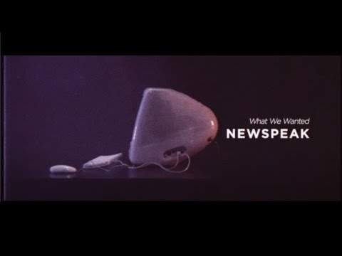 Newspeak - What We Wanted (Official Music Video)