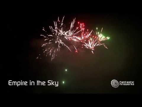 Fantastic Fireworks Empire In The Sky - 108 shot firework