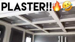 Building Our Dream Home | Plaster, Archs & Skirting Board Installed!! - Episode 9