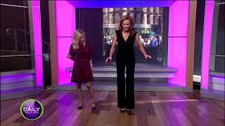 Tap dancing Sarah