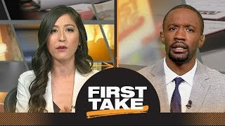 First Take reacts to LeBron James saying joining Lakers was 'dream come true' | First Take | ESPN