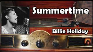 Summertime - Billie Holiday