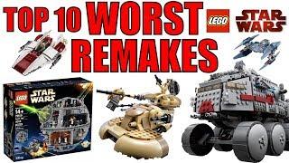 Top 10 WORST LEGO Star Wars Remakes!
