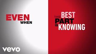 Even When/The Best Part (HSMTMTS   Official Lyric Video   Disney+)