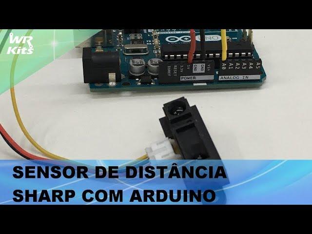 SENSOR DE DISTÂNCIA SHARP COM ARDUINO