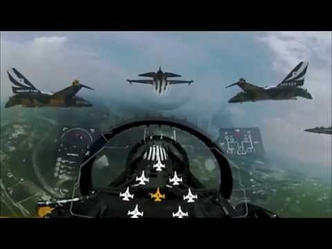공군 블랙이글스 곡예비행을 VR 영상으로 봤더니 이렇게 환상적인 장면들이! / 공군제공