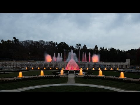 The Crown Jewel Of The Most Significant Fountain Collection In North  America, Longwoodu0027s Main Fountain Garden Rivals The Magnificent Fountains  Of Europe ...