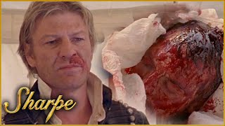 Sharpe Is Delivered The Captain's Severed Head | Sharpe