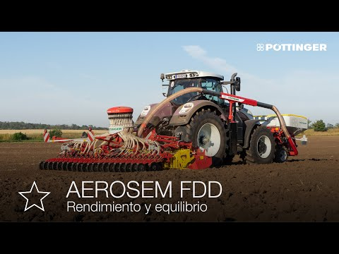AEROSEM FDD: Nueva sembradora con depósito frontal