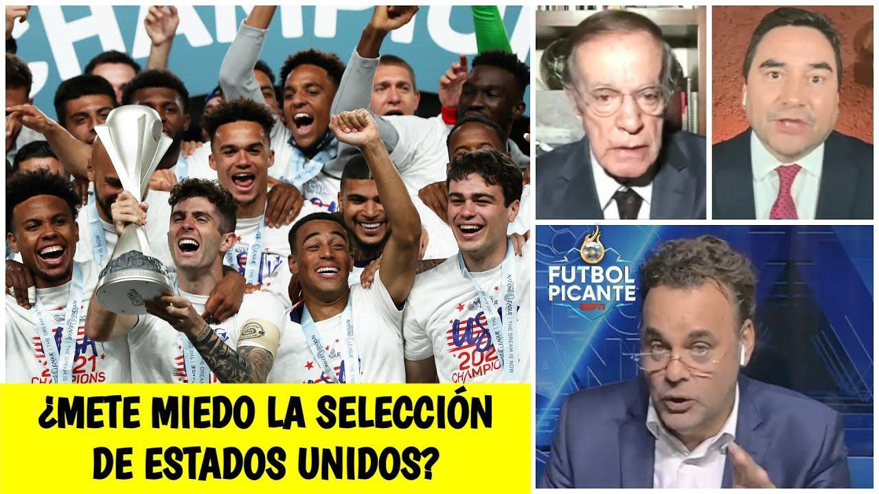 Pulisic y Estados Unidos le meten presión a México y sueñan con la Copa del Mundo | Futbol Picante