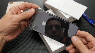 iPhone X unboxing [Greek]