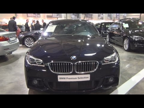 BMW 535d xDrive Sedan (2015) Exterior and Interior in 3D