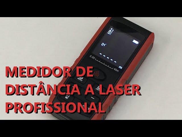 REVIEW MEDIDOR DE DISTÂNCIA A LASER PROFISSIONAL