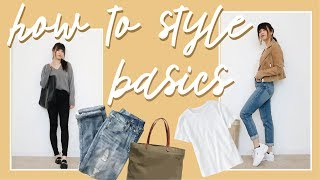 HOW TO STYLE BASICS // by Chloe Wen