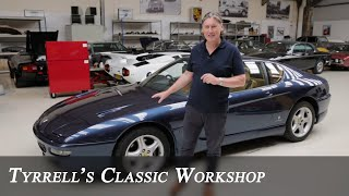 Ferrari 456 GT - Recovering lost power from the Italian V12 | Tyrrell's Classic Workshop