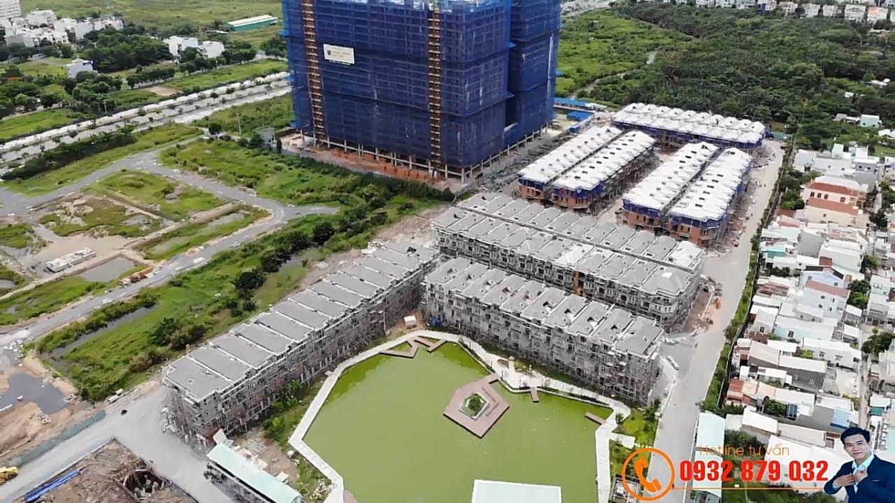 Biệt thự liền kề Phú Mỹ Hưng 100 triệu/m2 - 126tr/m2 DT: 126m2 - 196m2, LH: 0932 879 032 video