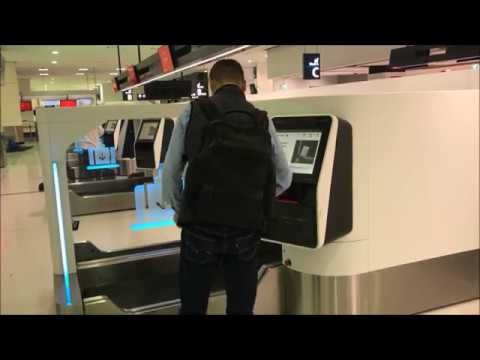 Resource: Sydney International Airport Terminal 1, Auto Bag Drop Series 7 in action