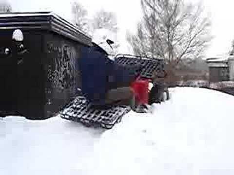 ATV Stuck in snow