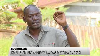 Ensi kulaba Ismail Sserubbo anyumya bweyasimattuka amasasi