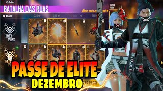 PASSE DE ELITE DEZEMBRO COMPLETO FREE FIRE