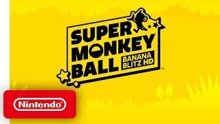 Super Monkey Ball: Banana Blitz HD - Announcement Trailer - Nintendo Switch
