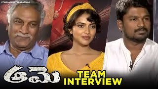 Aame Movie Team Interview- Amala Paul- Tammareddy..