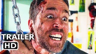 THE HITMAN'S BODYGUARD Red Band Trailer # 2 (2017) Ryan Reynolds Movie HD