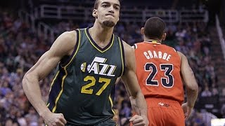 Rudy Gobert Defensive Highlights - Best Defensive Player In The NBA