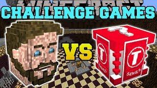 Minecraft: PEWDIEPIE VS T-SERIES CHALLENGE GAMES - Lucky Block Mod - Modded Mini-Game