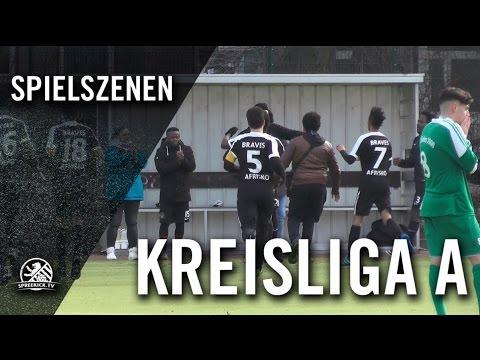 1. FC Afrisko - BSC Kickers 1900 (Kreisliga A, Staffel 1) - Spielszenen | SPREEKICK.TV