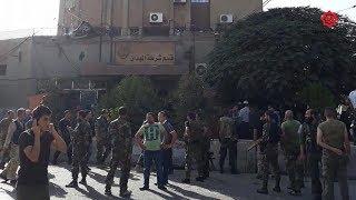 شاهد .. هجوم وتفجير يستهدف قسم شرطة الميدان بدمشق     -