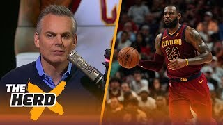 Colin Cowherd isn't going to feel guilty about thinking LeBron is this year's MVP | THE HERD