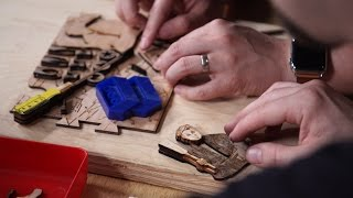 Laser Cutting the Maker Puzzle, Part 1