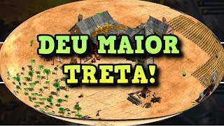 Age of Empires 2 HD Deu Treta no Game AoE2HD Gameplay PT BR